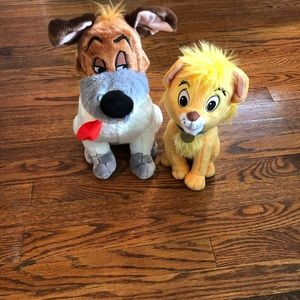 Oliver and Company Dodger and Oliver Plush